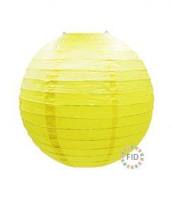 Esfera de Papel Amarillo