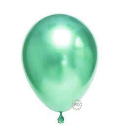 Globo Cromado Verde Jade