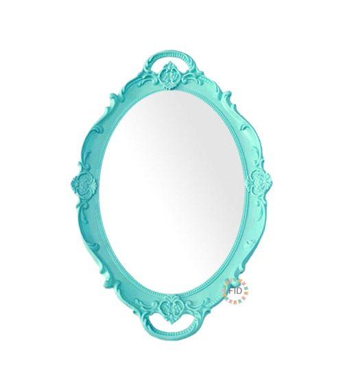 Bandeja Circular Jade con Espejo