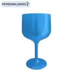 Copa de Color Azul Pastel