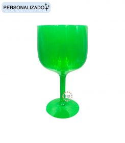 Copa Verde Translúcido