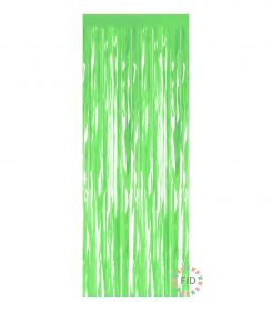 Cortina Iridiscente Verde