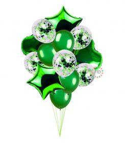 Globo Bouquet Verde set14